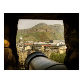 Het Kanon van het Kasteel van Edinburgh Briefkaart