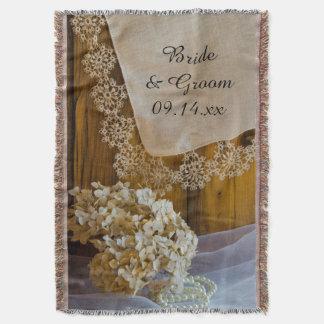 Het Kant van het land en het Huwelijk van Bloemen Deken