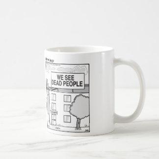 Het Kantoor van coroners Koffiemok