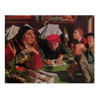 Het kantoor van de Advocaat, c.1545 Briefkaart