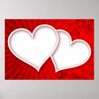 het Kantoor van de hartliefde personaliseert het Poster