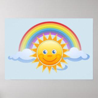 Het Kantoor van de Hemelen van de regenboog Poster