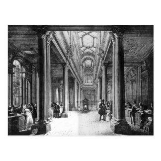 Het Kantoor van het dividend, Bank van Engeland Briefkaart