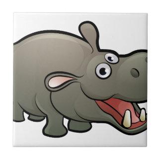 Het Karakter van de Cartoon van de Dieren van de Keramisch Tegeltje