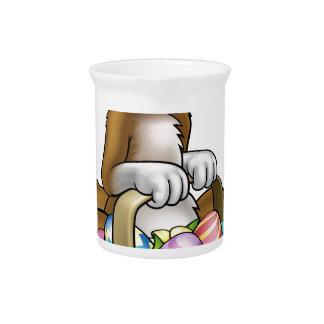 Het Karakter van de Cartoon van de paashaas Bier Pitcher