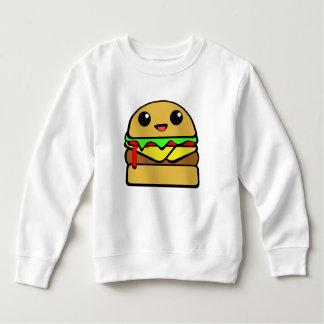 Het Karakter van de Cheeseburger van Kawaii Kinder Fleece
