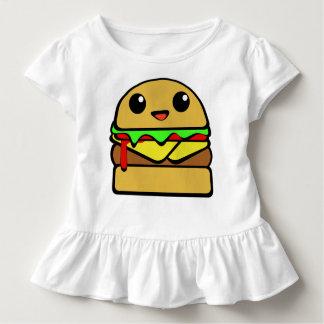 Het Karakter van de Cheeseburger van Kawaii Kinder Shirts