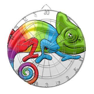 Het Karakter van de Regenboog van de Cartoon van Dartbord