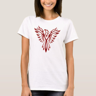 Het karmozijnrode Toenemen van Phoenix T Shirt