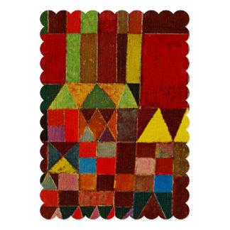 Het Kasteel en de Zon van Paul Klee Persoonlijke Aankondiging