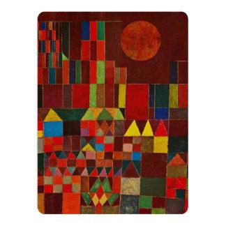 Het Kasteel en de Zon van Paul Klee Gepersonaliseerde Uitnodigingen