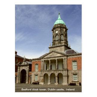 Het Kasteel Ierland van Dublin - Bedford Briefkaart