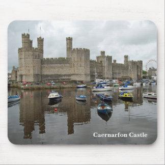 Het Kasteel Mousepad van Caernarfon Muismat