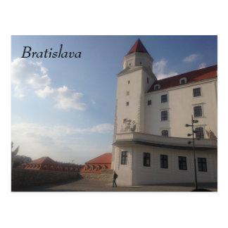 Het Kasteel van Bratislava Briefkaart