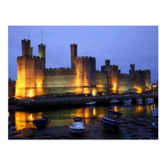 Het kasteel van Caernarfon Briefkaart