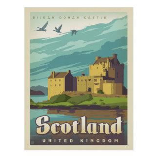 Het Kasteel van Donan van Eilean - Schotland Briefkaart