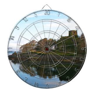 Het Kasteel van Dunollie, Oban, Schotland Dartbord