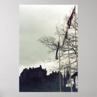 Het Kasteel van Edinburgh Poster