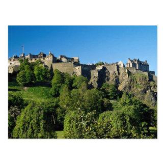 Het Kasteel van Edinburgh, Schotland Briefkaart