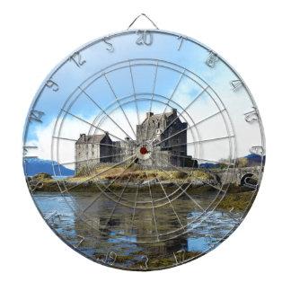 """Het """"kasteel van Eilean Donan"""" - Schotland Dartbord"""