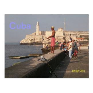 Het Kasteel van Gr Morro, Cuba Briefkaart