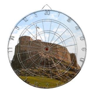 Het Kasteel van Lindisfarne, Heilig Eiland, Dartbord