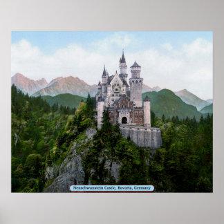 Het Kasteel van Neuschwanstein, Beieren, Duitsland Poster