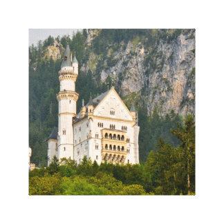 Het Kasteel van Neuschwanstein in Beieren Canvas Afdruk