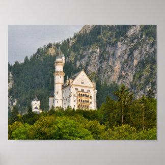 Het Kasteel van Neuschwanstein in Beieren Poster