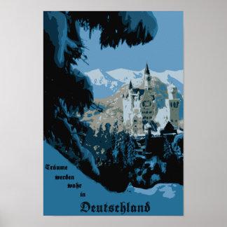 Het Kasteel van Neuschwanstein Poster