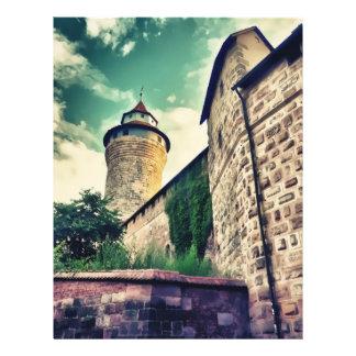 Het kasteel van Nuremberg Persoonlijke Folder