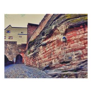 Het kasteel van Nuremberg Folders