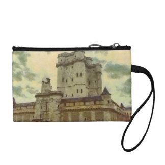 Het kasteel van Vincennes, het schilderen van Portemonneetje