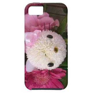 Het Kat van de bloem Tough iPhone 5 Hoesje