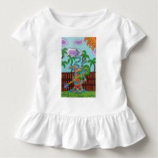Het Kat van de tuimelschakelaar Kinder Shirts