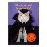 Het Kat van Dracula Wenskaart