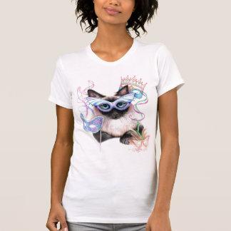 Het Kat van Gras van Mardi T Shirt