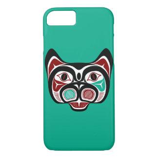 Het Kat van Haida van de Vreedzame kust van het iPhone 7 Hoesje
