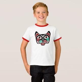 Het Kat van Haida van de Vreedzame kust van het T Shirt