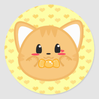 Het Katje van het baby - de Sticker van de Jongen