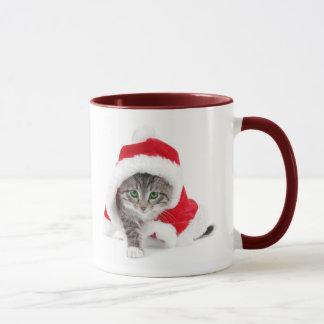 Het Katje van Kerstmis Mok