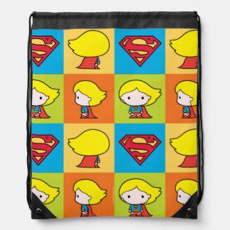 Het Keerpunt van het Karakter van Supergirl van Trekkoord Rugzakje