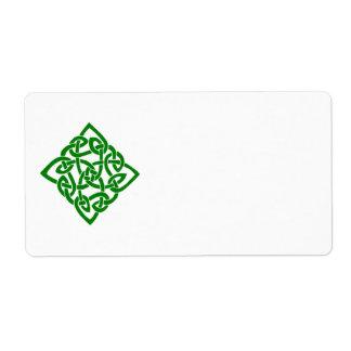 Het Keltische Etiket van de Diamant
