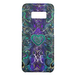 Het Keltische Monogram van Mandala van de Case-Mate Samsung Galaxy S8 Hoesje