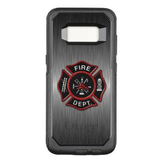 Het Kenteken van de brandbestrijder Luxe OtterBox Commuter Samsung Galaxy S8 Hoesje