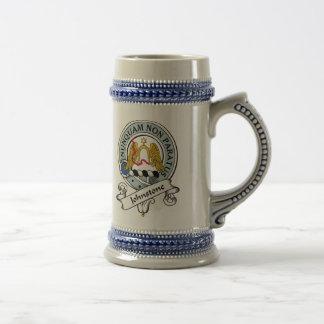 Het Kenteken van de Clan van Johnstone Bierpul