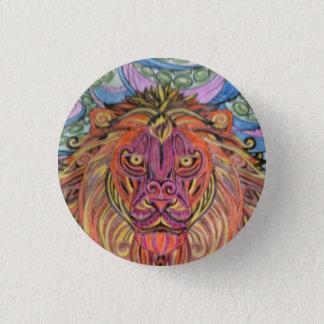 Het kenteken van de leeuw ronde button 3,2 cm