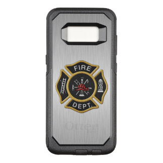 Het Kenteken van het brandweerkorps Luxe OtterBox Commuter Samsung Galaxy S8 Hoesje