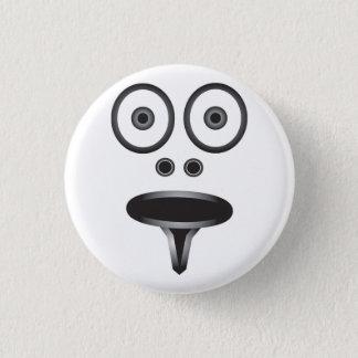Het Kenteken van het gezicht Ronde Button 3,2 Cm