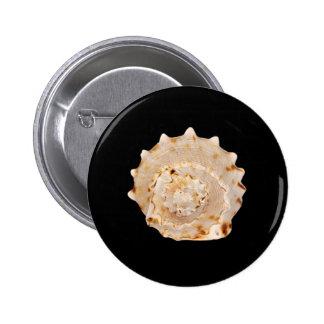 Het Kenteken van Shell van de kroonslak Ronde Button 5,7 Cm